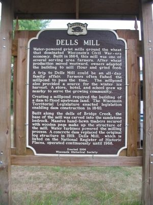 Dells Mill Marker image. Click for full size.