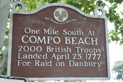 Compo Beach Marker image. Click for full size.
