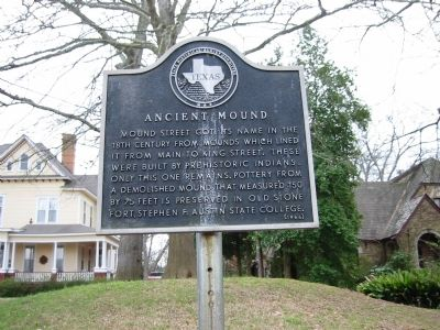 Ancient Mound Marker image. Click for full size.