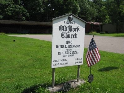 Old Rocks Church Marker image. Click for full size.