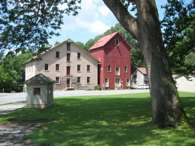Prallsville Grist Mill image. Click for full size.