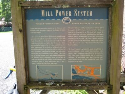 Mill Power System Marker image. Click for full size.