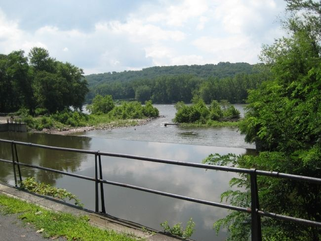 Prallsville Mills - Wickecheoke Spillway to Delaware River image. Click for full size.