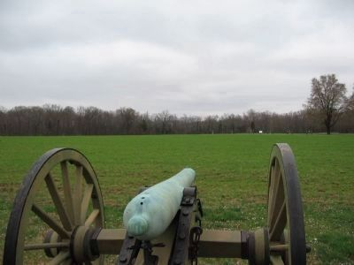 Gunner's View from Ross' Battery image. Click for full size.