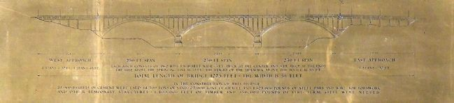 Detail on Bridge Builder's Plaque image. Click for full size.