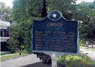 Corinth Marker image. Click for full size.
