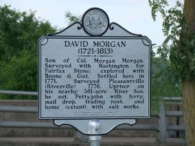 David Morgan (1721–1813) / Patriot, Defender Marker image. Click for full size.