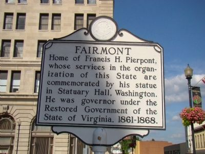 Fairmont Marker image. Click for full size.