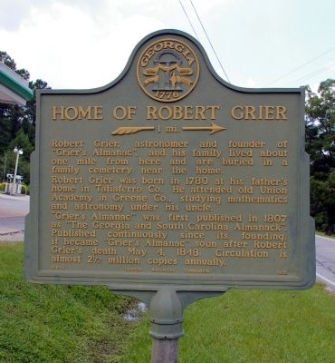 Home of Robert Grier Marker image. Click for full size.