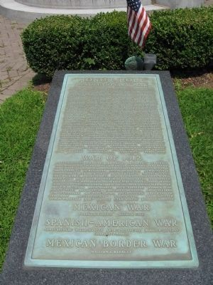 Revolutionary War Tablet image. Click for full size.