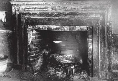 Hanover House - Interior Mantle image. Click for full size.