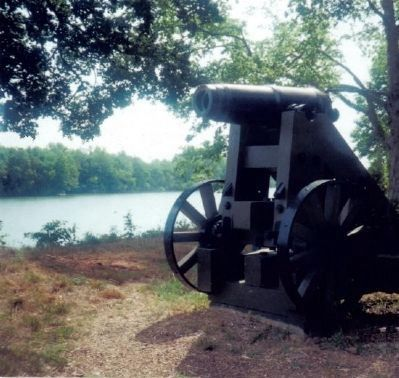 Artillery at the Upper Water Battery image. Click for full size.