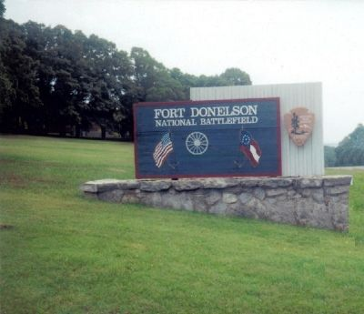 Fort Donelson National Battlefield image. Click for full size.
