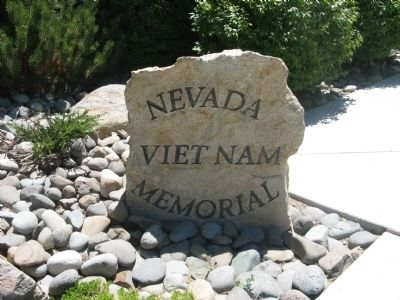 Nevada Viet Nam Memorial Photo, Click for full size