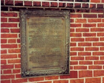 Marker at Baltimore's Old Saint Paul's Cemetery image. Click for full size.