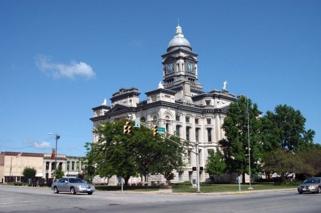 South/East Corner - - Clinton County Courthouse image. Click for full size.