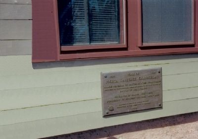 Marker at the Joshua Lawrence Chamberlain House Photo, Click for full size