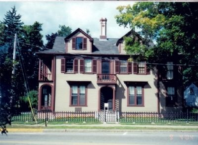 Joshua Lawrence Chamberlain House Photo, Click for full size