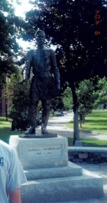 Statue of Joshua Lawrence Chamberlain Photo, Click for full size