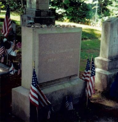 Grave of Joshua Lawrence Chamberlain Photo, Click for full size
