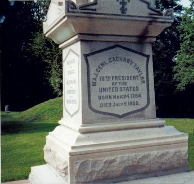 Zachary Taylor Monument image. Click for full size.
