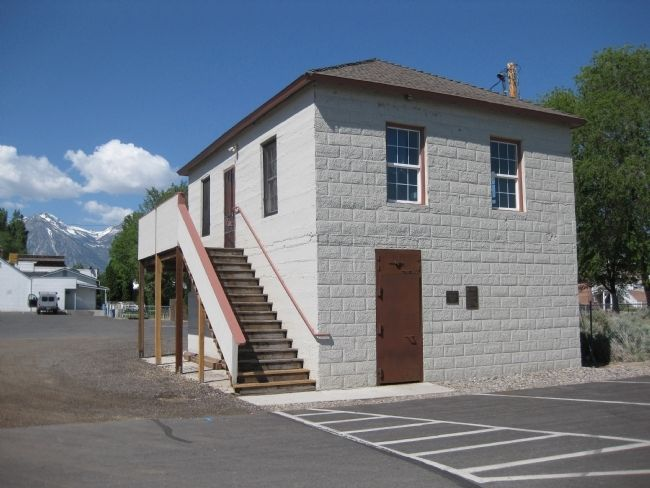Gardnerville Branch Jail image. Click for full size.