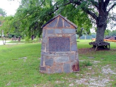 Site of the Campbell County Court House Marker image. Click for full size.