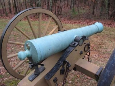 Rifled 6-pdr Model 1841 Field Gun image. Click for full size.