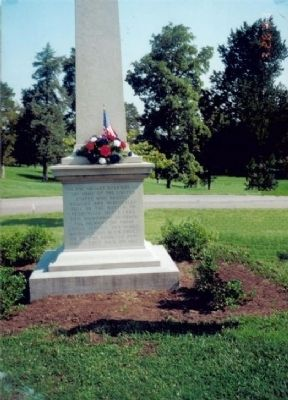 Union Monument in Perryville image. Click for full size.