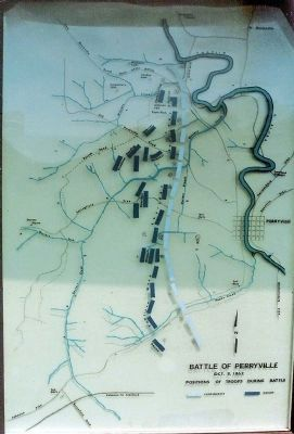 Perryville Battlefield Map image. Click for full size.
