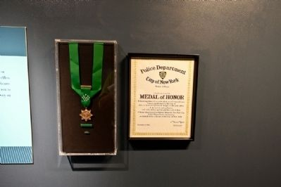 New York Police Department Medal of Honor Display image. Click for full size.