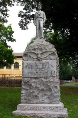Charles Allen Smith Monument image. Click for full size.