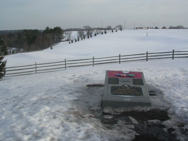 Site of the 1969 Woodstock Festival and Commemorative Marker Photo, Click for full size