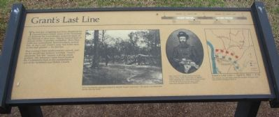 Grant's Last Line Marker Photo, Click for full size