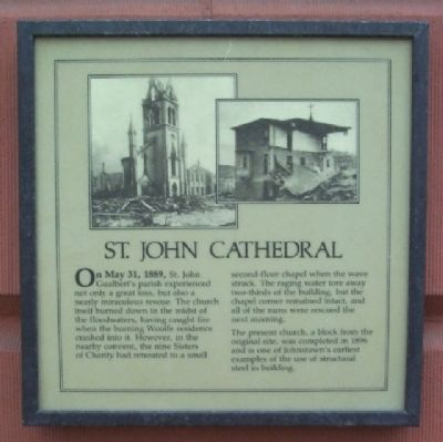 St. John Cathedral Marker image. Click for full size.