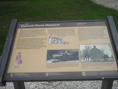 Hancock House Marker image. Click for full size.