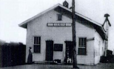 Irmo Train Depot image. Click for full size.