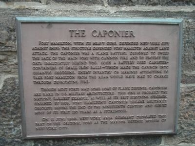 The Caponier Marker image. Click for full size.