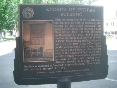 Knights of Pythias Building Marker image. Click for full size.