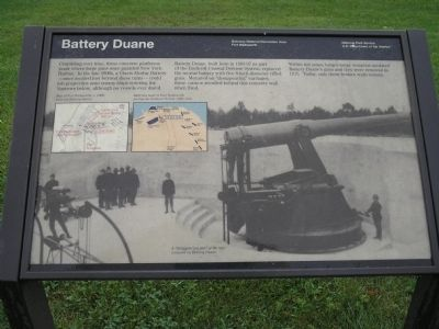 Battery Duane Marker image. Click for full size.