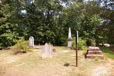 Founders' Cemetery and Marker image. Click for full size.