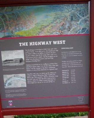 The Highway West Marker image. Click for full size.