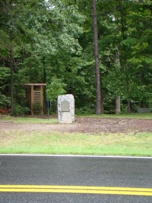 First Buck Mountain Church Marker Photo, Click for full size