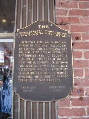 The Territorial Enterprise Marker image. Click for full size.