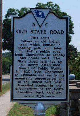 Old State Road Marker image. Click for full size.