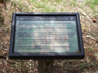 Lighthouse Keepers Home Marker image. Click for full size.
