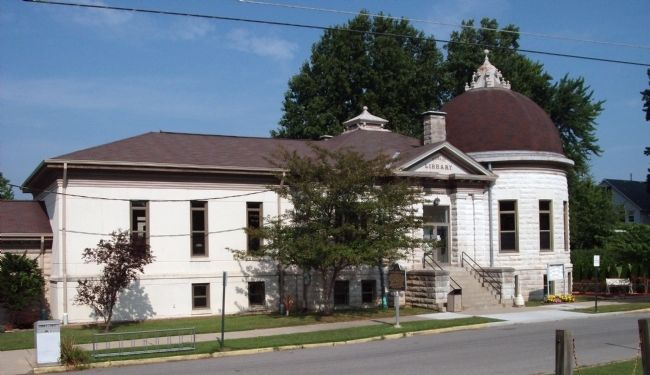 Full View - - Sullivan Carnegie Library image. Click for full size.