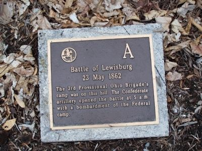 Battle of Lewisburg Marker image. Click for full size.