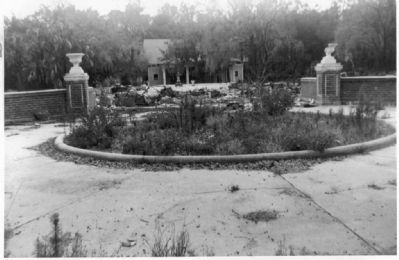 Hampton Springs Hotel Marker Photo, Click for full size