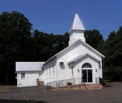 Oakrum Baptist Church (1909) image. Click for full size.